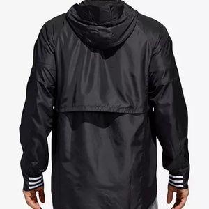 adidas Jackets & Coats - Men's Hoodie Jacket with Zipper in Black (L)